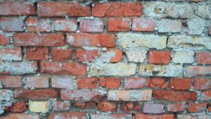 crumbling bricks as a sign of need for foundation repair