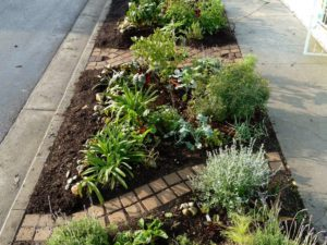 concrete pavers for garden decoration